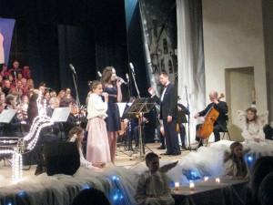 W roli dyrygenta na koncercie  wystąpił również Edward Trusewicz  (fot. Zofia Abucewicz)