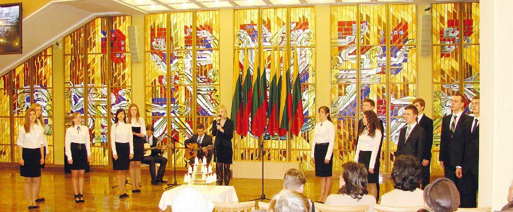 Podczas prezentacji w holu Sejmu RL