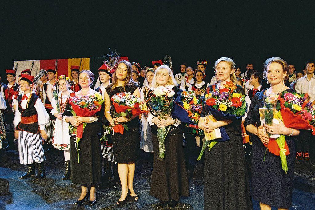 Szczęśliwe chwile tuż po koncercie (fot. Jerzy Karpowicz)